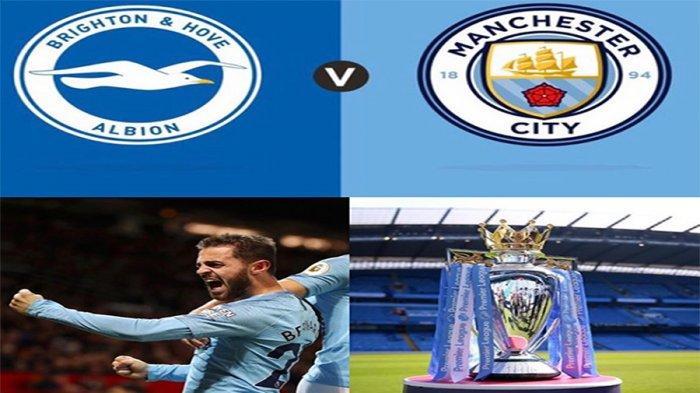 LIVEStreaming MNCTVBrighton Vs Manchester City, Final Day Liga Inggris 2019 Pukul 21.00 WIB