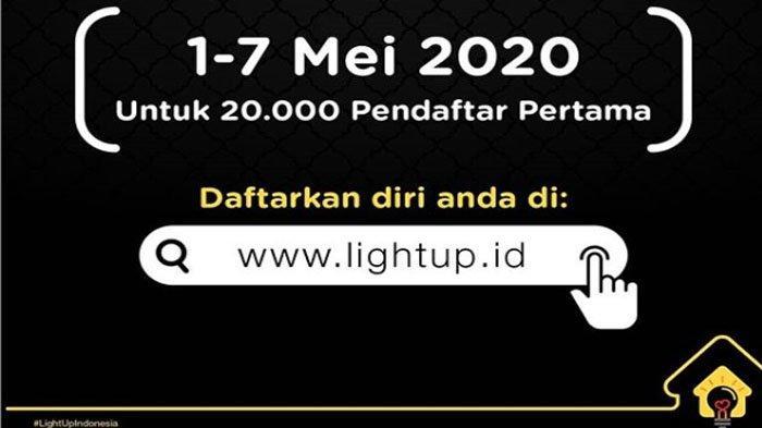 LOGIN www.lightup.id Gagal Terus Daftar? Ini Solusi Dapat Diskon Listrik Daya 1.300 VA dan 900 VA