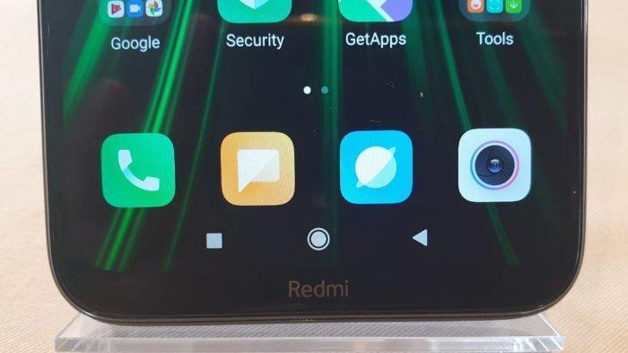 FOTO: Redmi Note 8 Pro, Smartphone Xiaomi Teranyar 2019 | Lihat Detail Tampilannya - logo-redmi-note-8-tergurat-di-bagian-bawah-layar.jpg