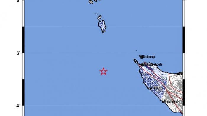 Analisis BMKG Terkait Gempa di Banda Aceh Sabtu 5 Desember 2020