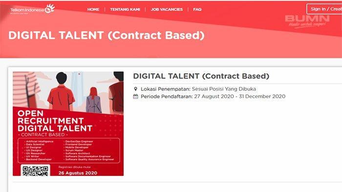 Loker Bumn 2020 Lowongan Kerja Pt Telkom Tersedia 13 Peluang Karir Di Rekrutmen Telkom Terbaru Tribun Pontianak