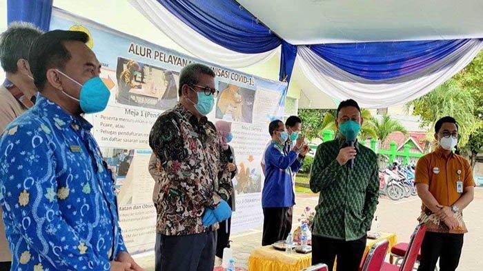 BPJS Kesehatan Pontianak Dukung Simulasi Vaksinasi Covid-19 di Puskesmas Kampung Bali