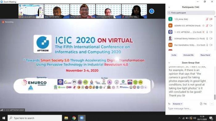 Penelitian Dosen & Alumni UBSI Pontianak Lolos Paper Internasional ICIC 2020