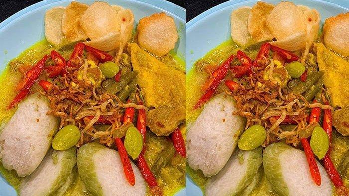 Resep Masakan Lontong Sayur Petai, Makanan Khas Lebaran yang Wajib Ada