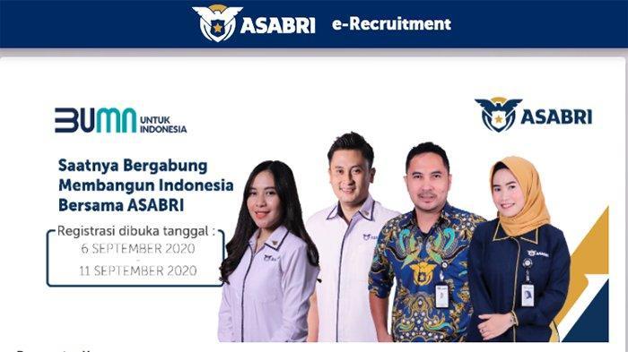 LOWONGAN Kerja 2020 Terbaru di Loker Asabri 2020 September, Lowongan BUMN Ini Buka 14 Peluang Karir