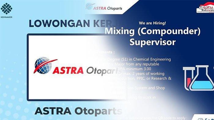 LOWONGAN Kerja 2021 Terbaru, Sedang Dibuka Rekrutmen Karyawan PT Astra Otoparts | Info Loker 2021