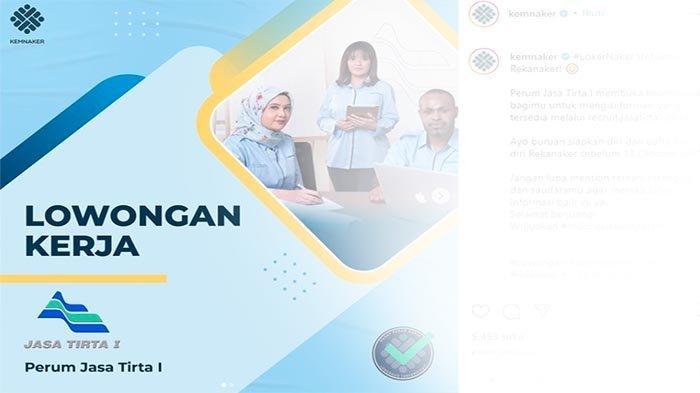 LOWONGAN Kerja BUMN 2021 Terbaru, Perum Jasa Tirta Buka Lowongan Kerja Nih | Yuk Buruan Coba