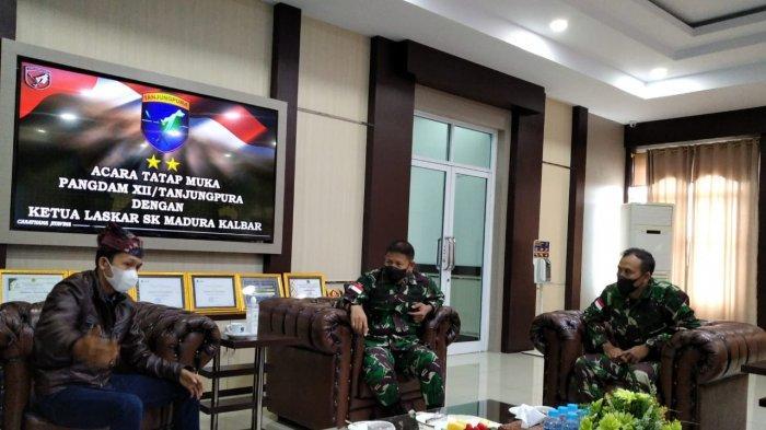 Guntur Perdana Sebut Pangdam XII Tanjungpura Siap Bersinergi dengan LSKM Bangun Wawasan Kebangsaan