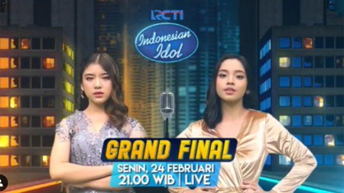 STREAMING Indonesian Idol Live RCTI, Penentuan NasibLyodra dan Tiara Menuju Titel Pemenang
