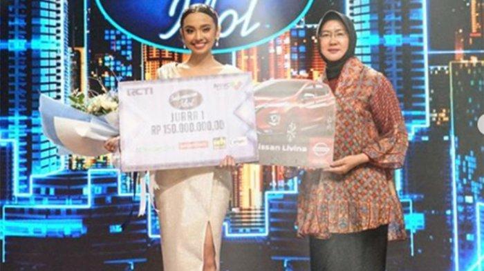 Lyodra Tak Kuasa Tahan Air Mata Setelah Jadi Juara Indonesian Idol, Ini Hadiah yang Dibawanya Pulang