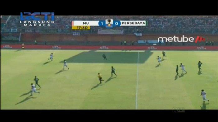 Sedang LIVE! Madura United Vs Persebaya Perempat Final Piala Indonesia, Gol Cepat Striker Timnas