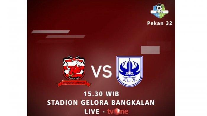 H2H Madura United Vs PSIS: Link Live Streaming TVOne Liga 1 2018: Prediksi Line Up Pemain