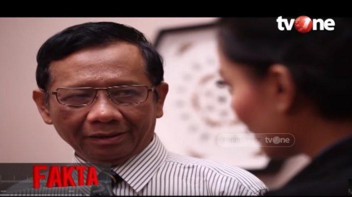 Mahfud MD Anggap Tim Hukum Prabowo - Sandiaga Tak Bisa Buktikan Kecurangan TSM di Sidang MK