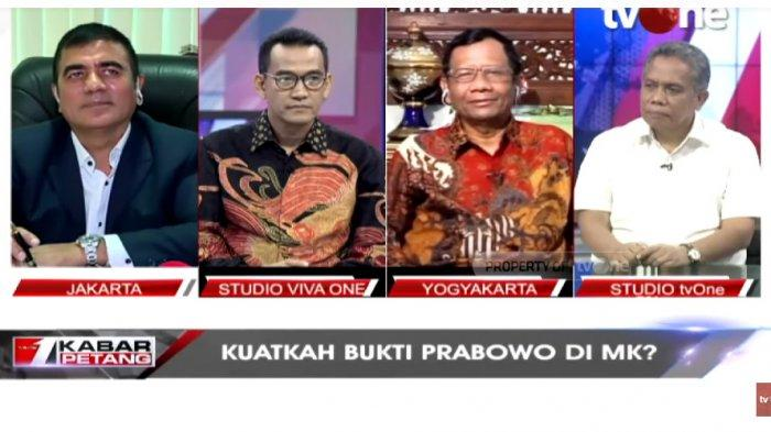 Di TVOne, Mahfud MD Blak-blakan Ungkap Cara Buktikan Gugatan Bersifat Kualitatif & Kuantitatif di MK