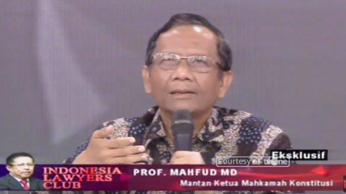 Tanggapi Tagar #2019GantiPresiden, Mahfud MD Minta Aparat Profesional dan Adil