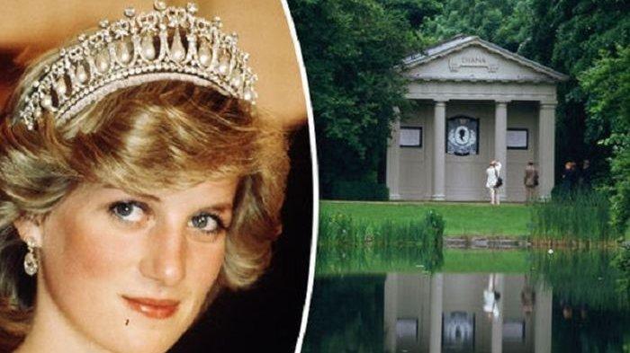 Indahnya Makam Putri Diana, Sayangnya Hanya Orang Tertentu yang Bisa Berkunjung
