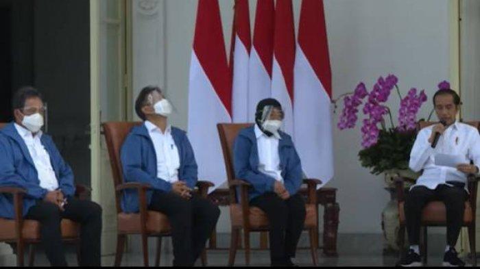 MAKNA JAKET BIRU 6 Menteri Baru Jokowi Kabinet Indonesia Maju