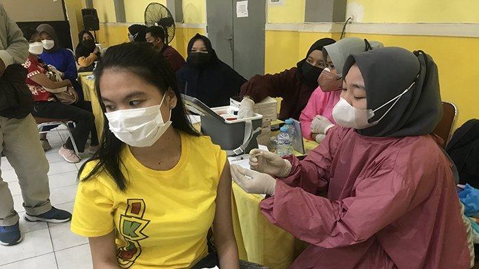 Dukung Program Pemerintah, Dare Intelegensia Pontianak Ikuti Vaksinasi