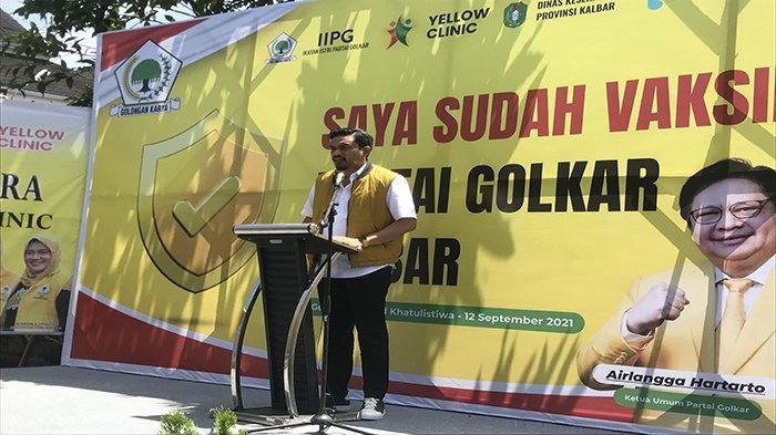 Respon Covid-19 Belum Stabil, Ketua DPD Golkar Maman Abdurrahman Jelaskan Yellow Klinic