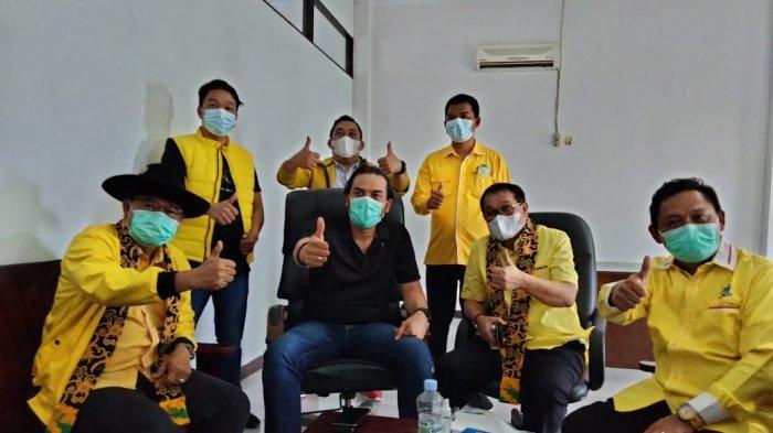 Hadiri Konsolidasi Pengurus DPD Partai Golkar Sanggau, Ini Yang Disampaikan Maman Abdurrahman