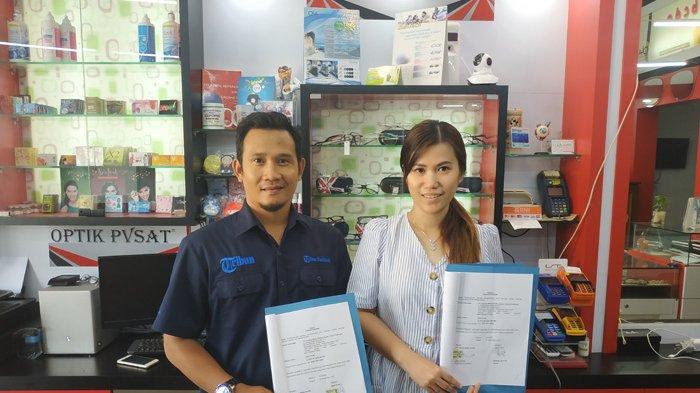 Optik Pvsat Perpanjang Kerjasama Sebagai Merchant TFC Premium