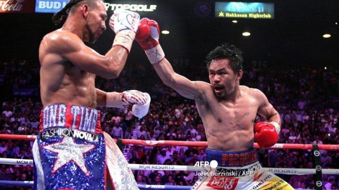 Jadwal Tinju Dunia Manny Pacquiao vs Errol Spence Jr, Kecepatan Masih Jadi Andalan Pac Man