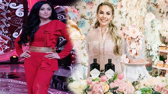 MARAH Pada Nikita Mirzani, Dewi Perssik Tumpahkan Kekesalannya Saat Live di TV