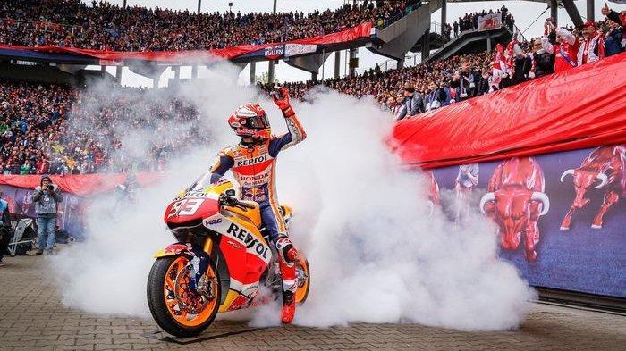Marc Marquez Teratas Sesi Pemanasan MotoGP Italia, Streaming MotoGP Italia 2019 Minggu 2 Juni 2019