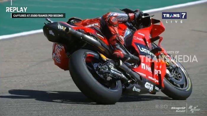 Marc Marquez Gagal di Kandang! Francesco Bagnaia Juara MotoGP Aragon 2021, Cek Klasemen MotoGP 2021