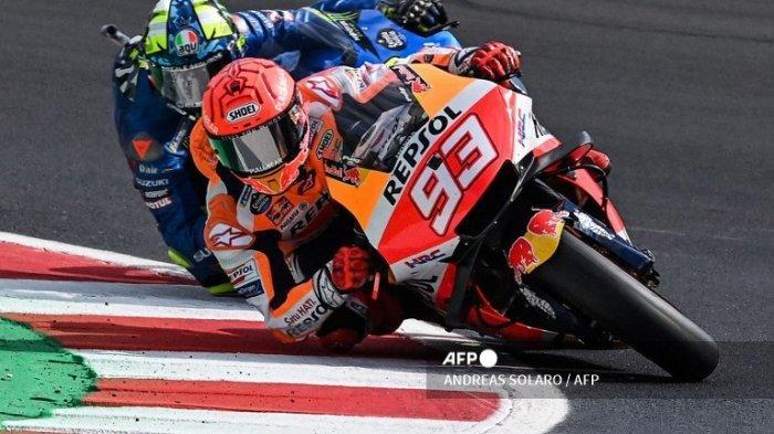 MARC Marquez Start Grid 7, Cek Hasil Kualifikasi MotoGP San Marino 2021 Lengkap dan Link Trans7 Live