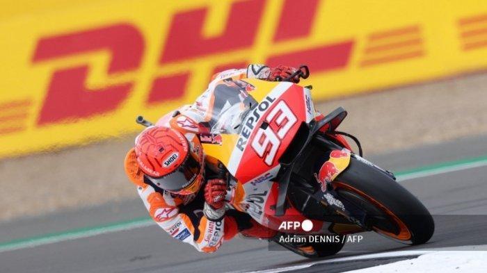 Marc Marquez Tercepat di Latihan Bebas MotoGP Aragon 2021 Hari Ini, Cek Hasil FP2 Moto2 dan Moto3