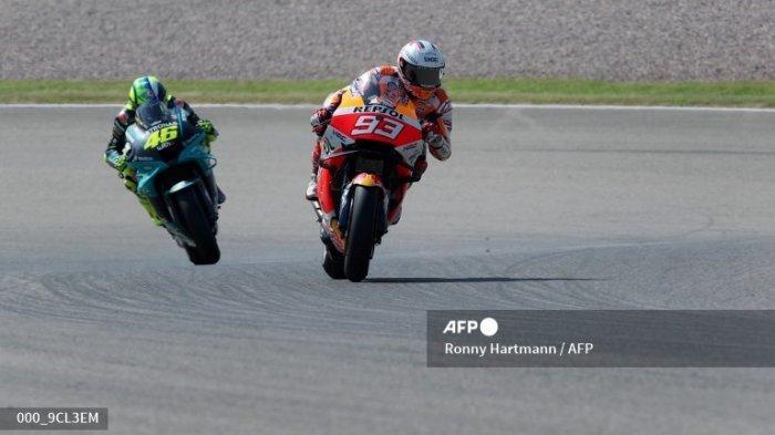 Jadwal Race MotoGP Jerman 2021 Malam Ini di Trans7 Mulai Jam Berapa? Valentino Rossi Start Posisi 16