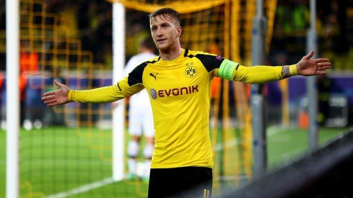 Sedang Live, LIVE Streaming & Live Score Dortmund Vs Bayer Leverkusen, Favre Pasang Marco Reus