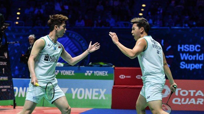 HASIL Marcus/Kevin Hari Ini Badminton Olimpiade 2021 Lengkap Link Update Hasil Ahsan/Hendra Live