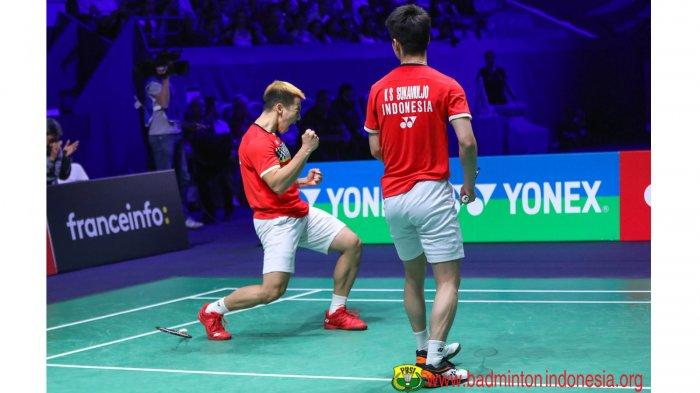 Hasil Final Fuzhou China Open 2019 Lengkap - Marcus/Kevin Pertahankan Juara, China-Jepang Bagi Gelar
