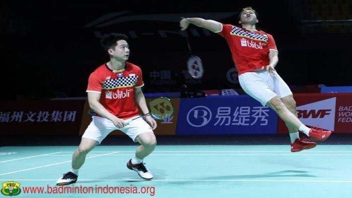 Jadwal Marcus/Kevin di Olimpiade Tokyo 2021 Cabor Badminton