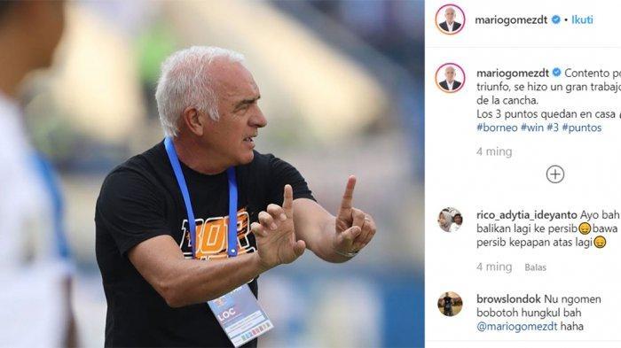 Mario Gomez Kembali ke Markas Persib Bandung, Boyong 19 Pemain Usung Misi Kemenangan