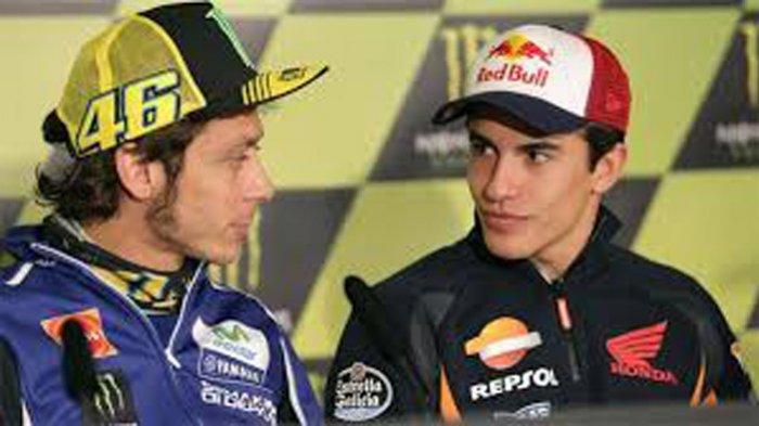 Valentino Rossi Tak Lagi Masuk 100  Atlet Terpopuler, Bagaimana Marc Marquez?