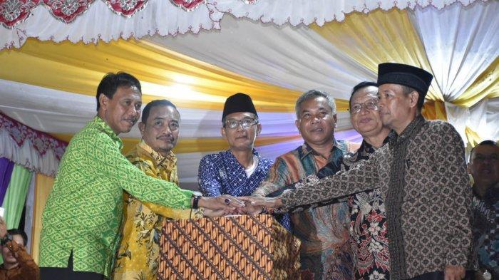 Launching Program Desa Bersinar di Desa Sukamaju, Ini Harapan Bupati Martin Rantan