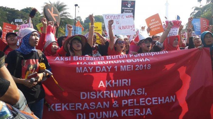 Gelar Aksi, Ini Tuntutan Buruh Pada Pemerintah