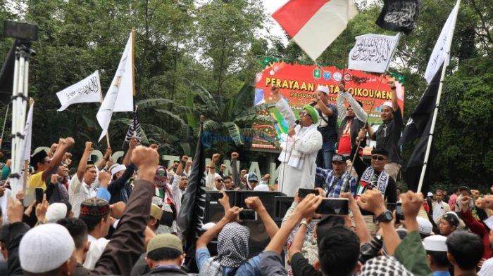 POPULER - Aksi Damai Bela Nabi di Pontianak, Tokoh Kalbar Lantang Minta Keadilan Ditegakkan