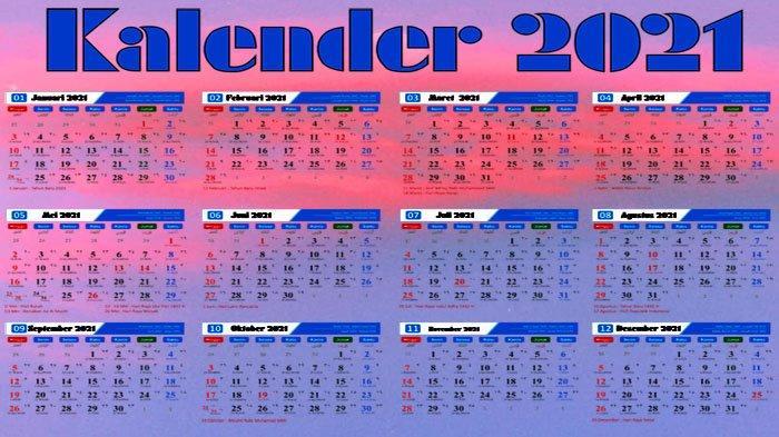 JADWAL Kalender Pendidikan 2021 hingga Masuk Pertama Tahun ...