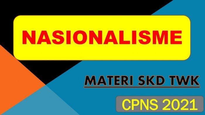 Materi Nasionalisme Cpns 2021 Pdf Soal Tiu Cpns Pdf Lengkap Materi Skd Cpns 2021 Pdf Tribun Pontianak