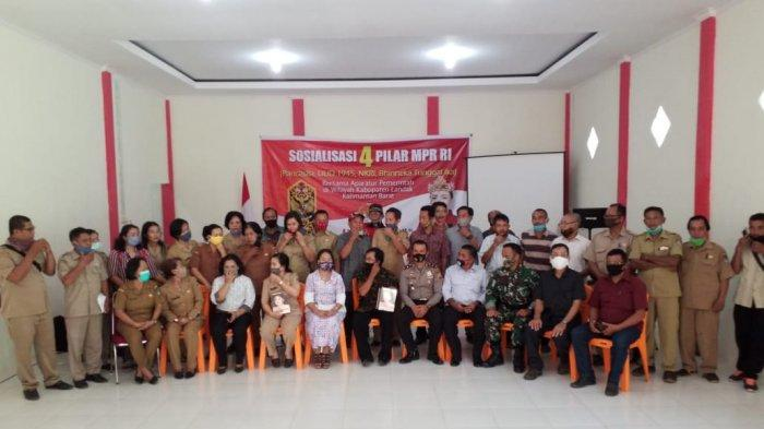 Membumikan Pancasila dengan Aparatur Pemerintahan Sengah Temila, Jadi Ajang Reuni Guru Murid