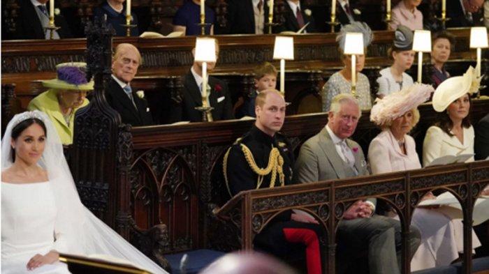 Misteri Kursi Kosong di Pernikahan Pangeran Harry dan Meghan Markle, untuk Mendiang Putri Diana?