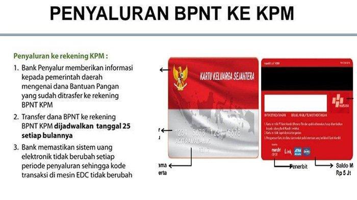 Mekanisme Pencairan Bantuan BPNT yang Disalurkan Oktober 2021