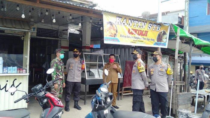 Datangi Swalayan hingga Pasar, Kapolres Melawi dan Tim Satgas Covid-19 Imbau Warga Patuhi Prokes