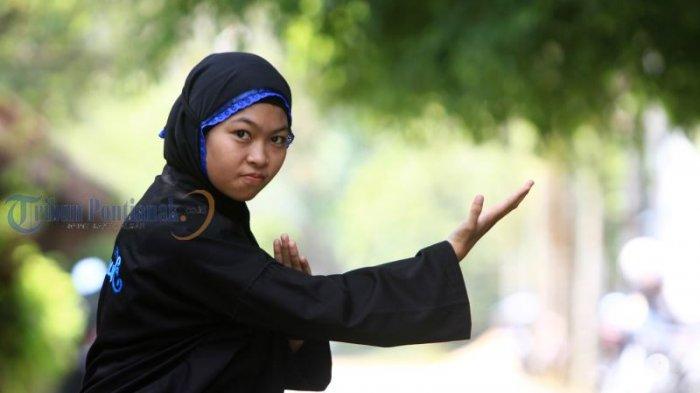 Bercita-cita Menjadi Atlet Asian Games, Melisa Giat Berlatih Pencak Silat