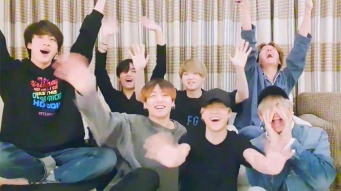 Member BTS Bicara Resolusi Tahun 2020, Jin BTS Ingin Lebih Muda, Suga Ingin Belajar Bahasa Inggris
