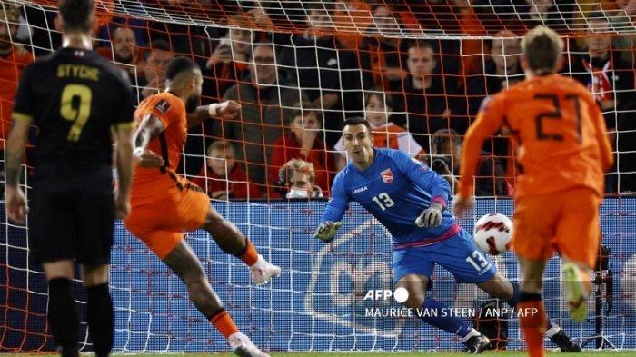 Skenario Belanda Lolos Piala Dunia 2022 Qatar Setelah Menang Lawan Gibraltar